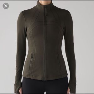Define Jacket Dark Olive